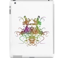 Rorschach Abstract Psychedelic #1 iPad Case/Skin