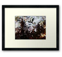 Dragon Realms II Framed Print