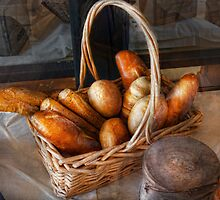 Kitchen - Food - Bread - Fresh bread  by Mike  Savad