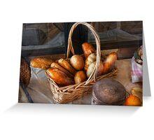 Kitchen - Food - Bread - Fresh bread  Greeting Card