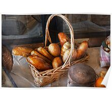 Kitchen - Food - Bread - Fresh bread  Poster