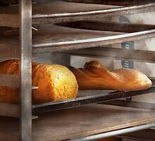 Kitchen - Food - Bread - Freshly baked bread  by Mike  Savad