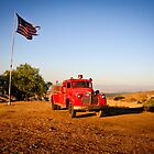 Vintage Fire Truck by LawrencePhoto