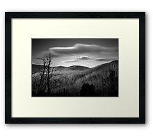 Gums of Grey Framed Print