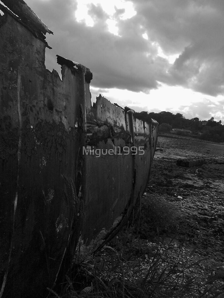 boat wreck by Miguel1995