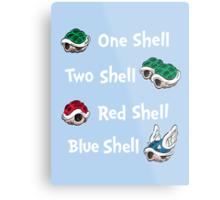 1 Shell 2 Shell Metal Print