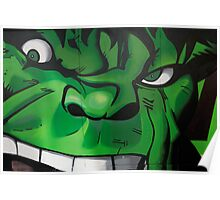 Street Art Brighton - The Hulk Poster