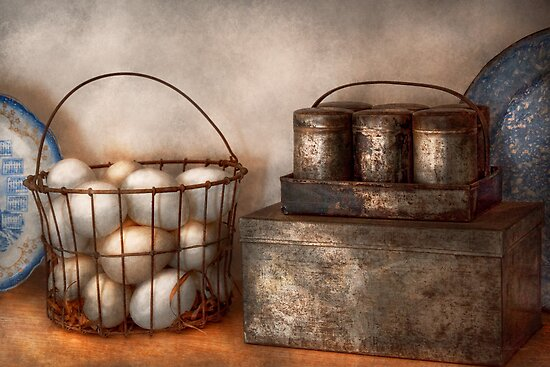 Kitchen - Food - Eggs - Fresh this morning by Mike  Savad