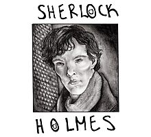 Sherlock Holmes RULES Photographic Print