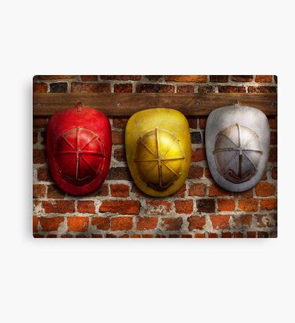 Fireman - Hats - Pick a hat, any hat  Canvas Print