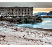 Fort Popham by Richard Bean