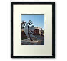 Waroona Leaf Framed Print