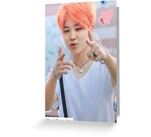 BTS Jimin Greeting Card