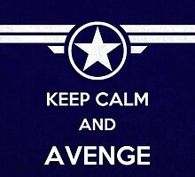 Commander Rogers - Keep Calm And Avenge by FandomFixation