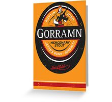 Jayne's Gorramn Stout! Greeting Card