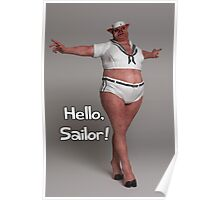 Hello Sailor Poster