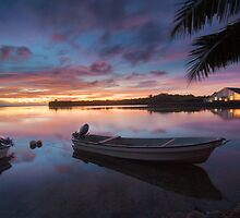 Sunset over Sokeh by paulbonnitcha
