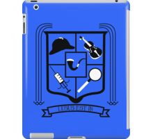 Sherlock Fan Crest iPad Case/Skin