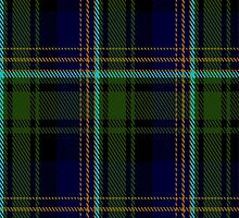 01021 Clerke of Ulva Clan/Family Tartan Fabric Print Iphone Case by Detnecs2013