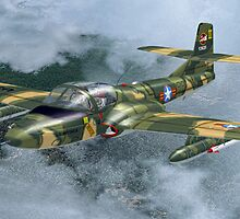Cessna A-37 Dragonfly by Walter Colvin