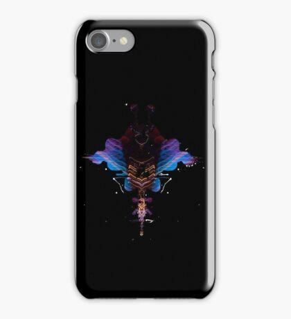 Stingray Inkblot iPhone Case/Skin