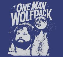 One Man Wolfpack T-Shirt by GeekLab