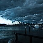 Sydney before the storm by paulbonnitcha