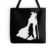 On an Adventure - inverted Tote Bag