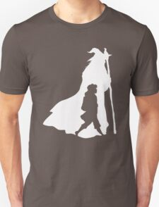 On an Adventure - inverted Unisex T-Shirt