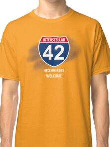 Hitchhikers Welcome Classic T-Shirt