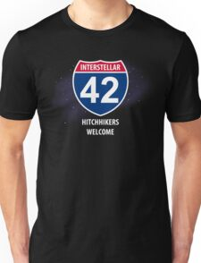 Hitchhikers Welcome Unisex T-Shirt