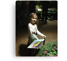 Butterfly Catcher at American Museum of Natural History Canvas Print
