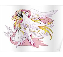 Angewomon Simple Poster