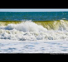 Atlantic Ocean Wave - Westhampton Beach  by © Sophie W. Smith