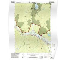 USGS TOPO Map New Hampshire NH Rumney 329768 1995 24000 Poster