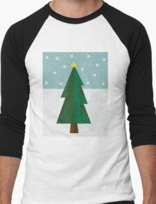 Simply Christmas Men's Baseball ¾ T-Shirt