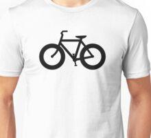 Fat Bike Silhouette Unisex T-Shirt