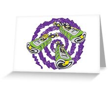 Tentacle Traveling Greeting Card