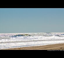 Atlantic Ocean Silver Waves - Westhampton Beach, New York by © Sophie W. Smith