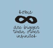 Some Infinities Are Bigger Than Other Infinities by grungeandglam