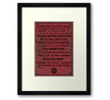 A Supernatural Life Framed Print