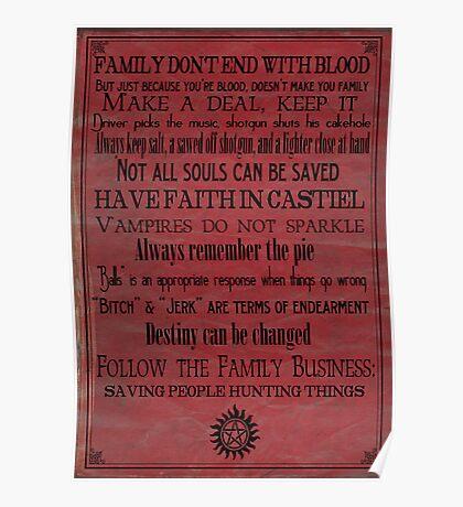 A Supernatural Life Poster