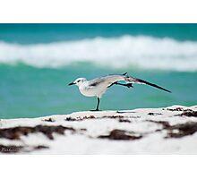 Beach Yoga - 1st Pose Photographic Print