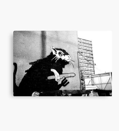 London - an east end wall 2 Canvas Print