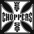 West Coast Chopper Black Iron Cross by Kzell