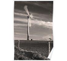 Wind Farm at Ravenshoe - Far North Queensland Poster