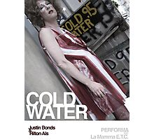Cold Water - Justin Bonds Photographic Print