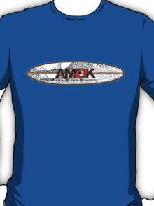 AMOK - tribal breaker surfboard T-Shirt