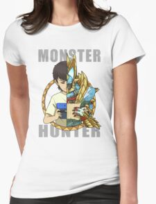 Hunter's Life (Zinogre) Womens Fitted T-Shirt