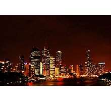 Riverside Nights Photographic Print